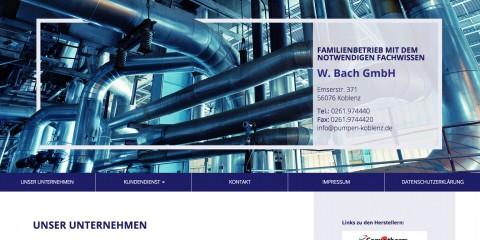 Zuverlässiger Kundendienst von Pumpentechnik W. Bach GmbH in Koblenz in Koblenz