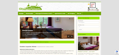 Möblierte Appartements in Gotha in Gotha