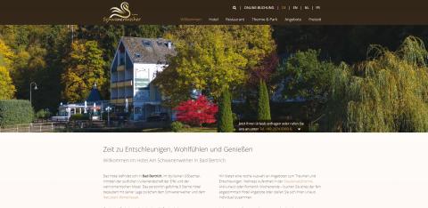 Das Hotel am Schwanenweiher in Bad Bertrich für einen erholsamen Urlaub in Bad Bertrich