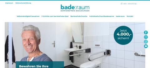 Teilmodernisierung im Bad von bade:raum in Nürnberg