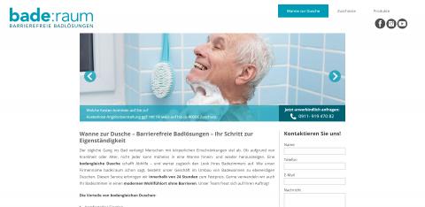 Bodengleiche Dusche – die alters- und behindertengerechte Alternative zur Badewanne in Schwaig