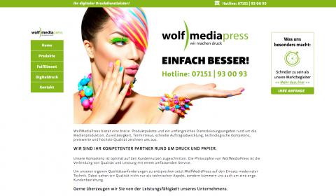 Rundum-Service bei WolfMediaPress in Korb in Korb