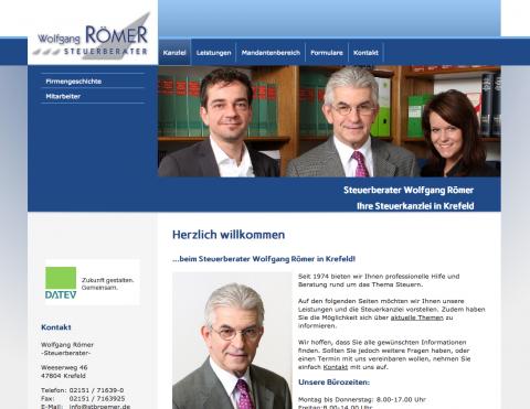 Jahresabschlüsse für Unternehmen von Steuerberater Wolfgang Römer in Krefeld in Krefeld