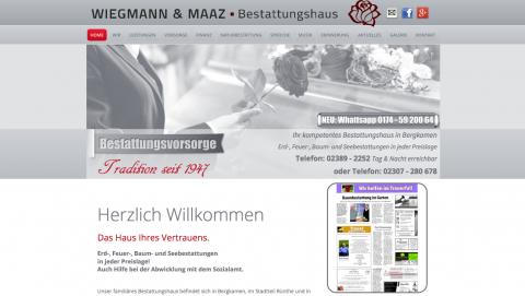 Entlastung der Bestattungskosten mit Wiegmann & Maaz Bestattungshaus in Bergkamen in Bergkamen