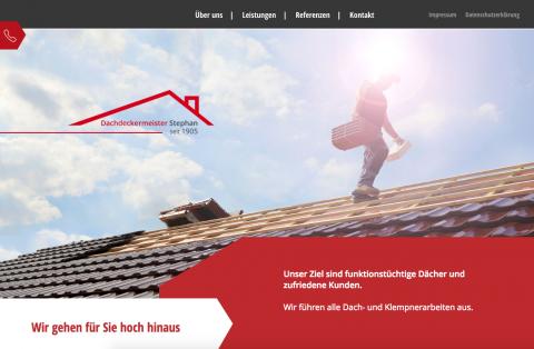 Dachbegrünung für die Zukunft mit Dachdeckermeister Hans-Jürgen Stephan in Brandenburg in Golzow