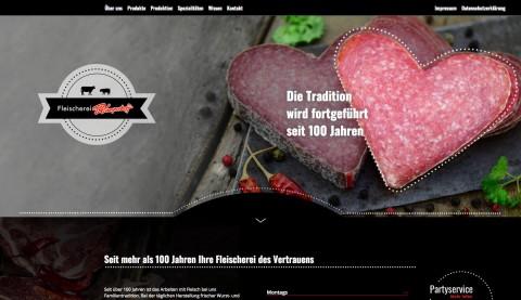 Köstliche Schinkenspezialitäten der Fleischerei Kamperhoff in Bochum in Bochum
