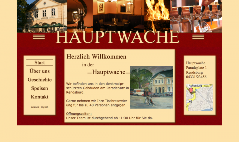 Restaurant Hauptwache in Rendsburg in Rendsburg