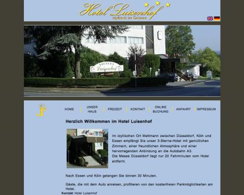Hotel Luisenhof in Mettmann in Mettmann