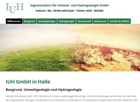 Baugrundgutachten vom Profi: das Ingenieurbüro für Umwelt- und Hydrogeologie aus Halle in Halle (Saale)