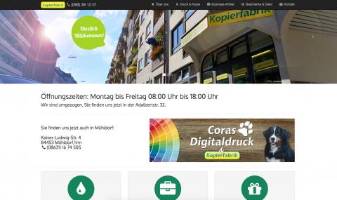 Im guten Licht stehen – Hochwertige Geschäftsausstattung von Coras Digitaldruck in Mühldorf in Mühldorf