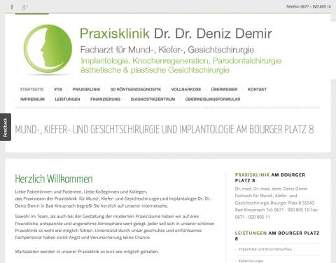 Praxisklinik für Kieferchirurgie Dr. Dr. Deniz Demir in Bad Kreuznach in Bad Kreuznach