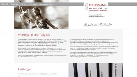Kompetenter Rat bei Fragen des Zivilrechts: Rechtsanwältin Christa Petersmann in Rostock in Rostock