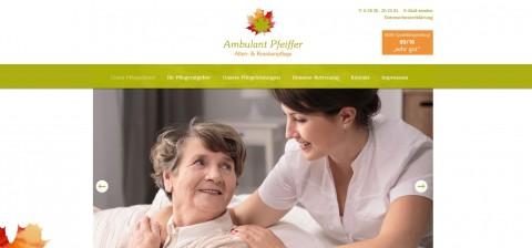 Die Vorteile der ambulanten Pflege – wenn das Heim nicht in Frage kommt in Bergen auf Rügen
