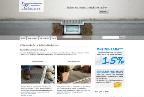 Trockener Keller mit der Lichtschachtabdeckung von Lsa-Renner in Stuttgart