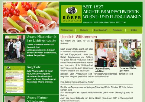 Röber Gourmetmarkt in Wolfenbüttel