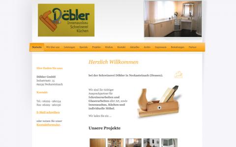 Individueller Möbelbau bei Schönau im Odenwald: Döbler GmbH in Neckarsteinach