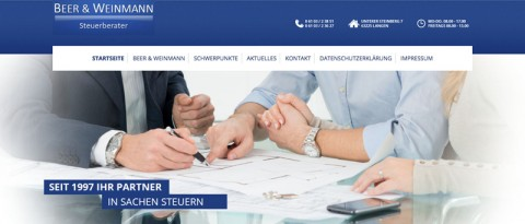 Steuerbüro Beer & Weinmann in Langen: Die Steuererklärung vom Fachmann in Langen