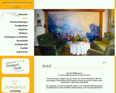 Märchenhotel und Ferienwohnungen Ferienpark Sauer – Ihr Hotel in Niedenstein  in Niedenstein