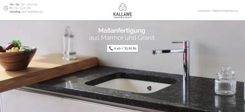 Individuelle Grabmale bei Kalläwe Marmor & Granit in Hamburg in Hamburg