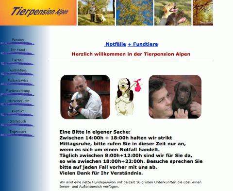 Tierpension Gudrun Groß in Alpen in Alpen