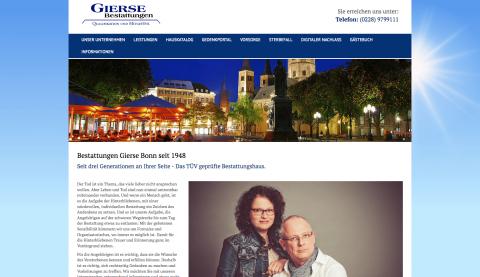 Für einen würdevollen Abschied: Bestattungen Gierse in Bonn in Bonn