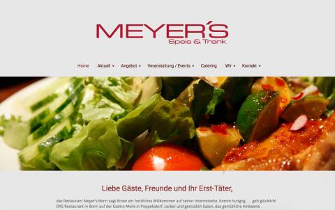 Catering für jeden Anlass – Restaurant Meyer's in Bonn in Bonn
