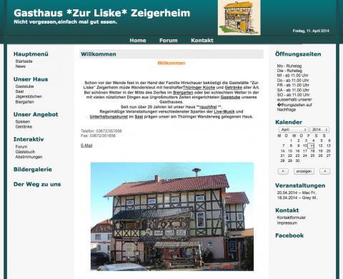 Gasthaus Zur Liske in Zeigerheim in Zeigerheim