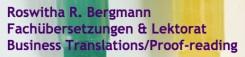 Fachlich einwandfreie Übersetzungen in Ottobrunn: Roswitha Bergmann hat das linguistische Feingefühl | Ottobrunn
