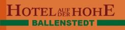 Idyllisches Hotel in Ballenstedt: Hotel auf der Hohe  | Ballenstedt