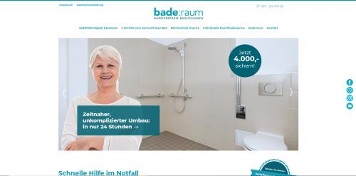 Firmenprofil von: Komfort trifft Ästhetik: bade:raum sorgt für Sicherheit im Bad