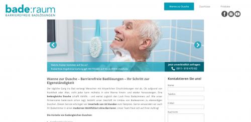 Firmenprofil von: Bodengleiche Dusche – die alters- und behindertengerechte Alternative zur Badewanne