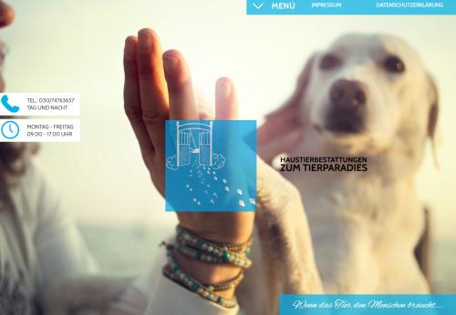 """Firmenprofil von: Ehrwürdige Tierbestattung – """"Zum Tierparadies"""" Messmer Bestattungen in Berlin"""