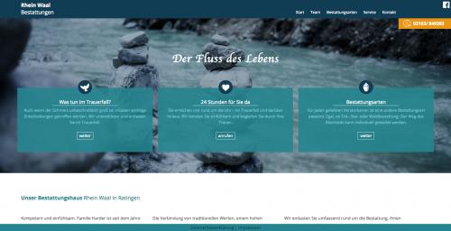 Firmenprofil von: Waldbestattung im Natur Begräbniswald Venlo mit Rhein-Waal Bestattungen Ratingen