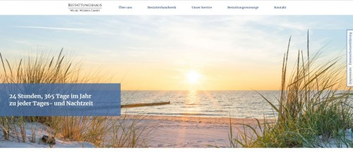 Firmenprofil von: Ascheschmuck als Andenken: Bestattungshaus Wilke Worbis GmbH