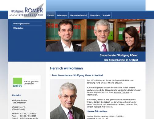 Firmenprofil von: Jahresabschlüsse für Unternehmen von Steuerberater Wolfgang Römer in Krefeld