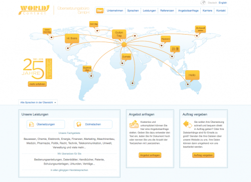 Firmenprofil von: Dolmetscher für alle Sprachen - World Contact Übersetzungsbüro GmbH in Gera