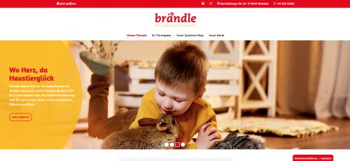 Firmenprofil von: Ihr Zoofachmarkt Brändle: Alles fürs Tier