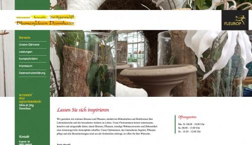 Firmenprofil von: Erfahrene Gärtnerei in Herford: Blumenideen Dannhaus
