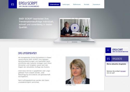 Firmenprofil von: Kompetenter Schreibservice in Essen