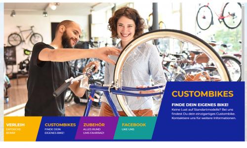 Firmenprofil von: Velo Wunderlich aus Bonn – nie wieder Fahrradreifen aufpumpen