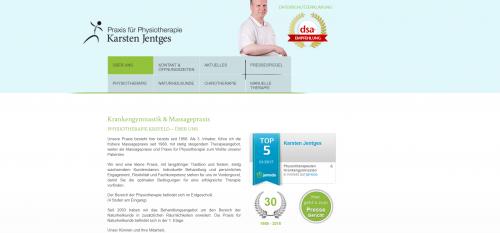 Firmenprofil von: Ihr Experte für manuelle Therapie: Physiotherapie Jentges in Krefeld