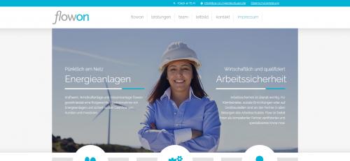 Firmenprofil von: Flow-on sorgt für Energie