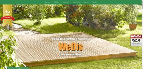 Firmenprofil von: Ihr Experte für Trocken- und Betonsteinmauern: WeDis-Gartenbau e. K.
