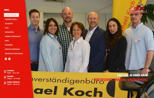 Firmenprofil von: Michael Koch GmbH – Das Kfz-Sachverständigenbüro aus Mannheim