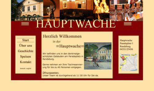 Firmenprofil von: Restaurant Hauptwache in Rendsburg
