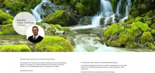 Firmenprofil von: Vertrauensvoller Bestatter in Stuttgart: Bestattungen Volker Schaffrath