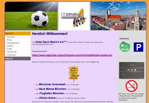 Firmenprofil von: Ein Städtetrip nach München – Entspannen in Maria's Inn in Garching