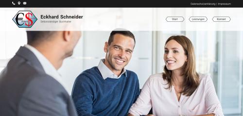 Firmenprofil von: Ihr Partner für das Mahnwesen: Selbstständiger Buchhalter Eckhard Schneider