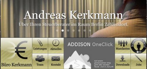 Firmenprofil von: Unternehmensplanung für Ihren Erfolg: Ihr Partner Steuerberater Kerkmann aus Berlin