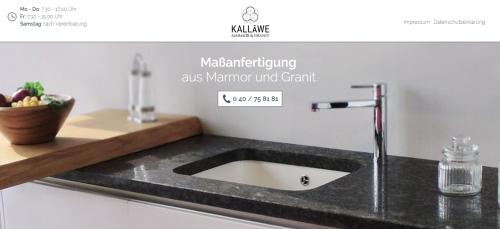 Firmenprofil von: Ein Wohn-Trend mit Beständigkeit – Möbel aus Marmor von Kalläwe aus Hamburg